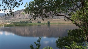 Calm Osoyoos Lake