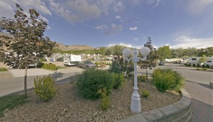 Island View RV Resort Landscaping