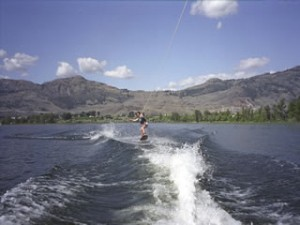 Island View RV Resort Wakeboarding