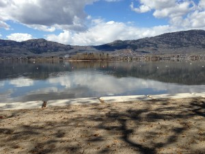 Osoyoos RV Park Beach Spring iPhone Photos