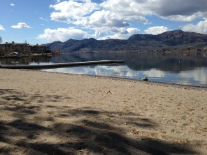 Osoyoos RV Park Spring iPhone Photos of Beach
