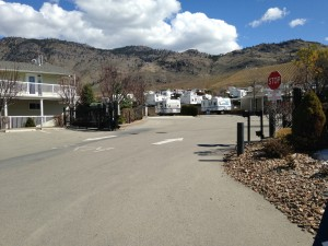 Osoyoos RV Park Spring iPhone Photos
