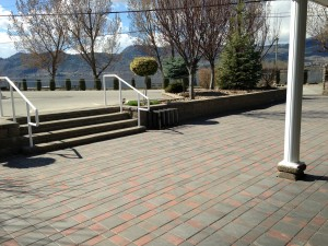 Osoyoos RV Park Steps Spring iPhone Photos