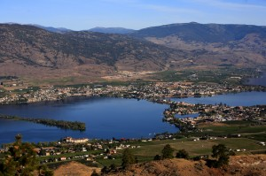View of Osoyoos from Anarchist Mountain